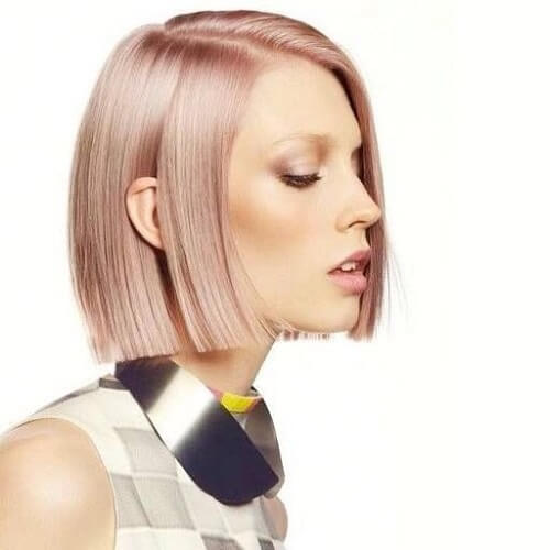 pink champagne hair color