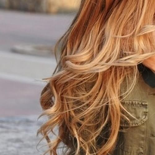 Blonde Balayage With Brown Lowlights
