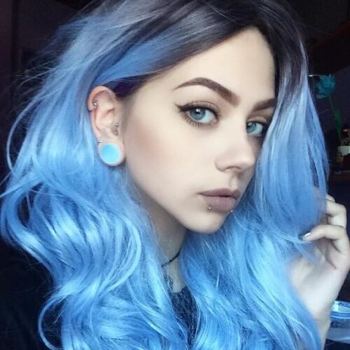 Baby Blue Waves