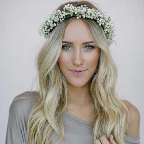 Boho Hairstyles for Long Wavy Hair