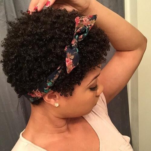 Bow Headband and Curls