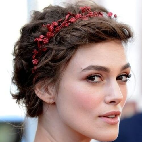 Colorful Headbands on Short Curls