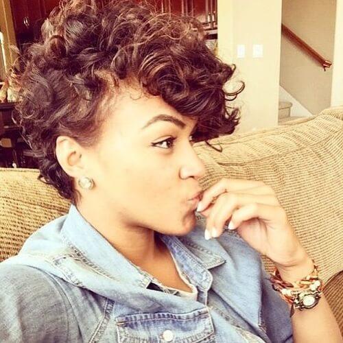 Curly Pompadours