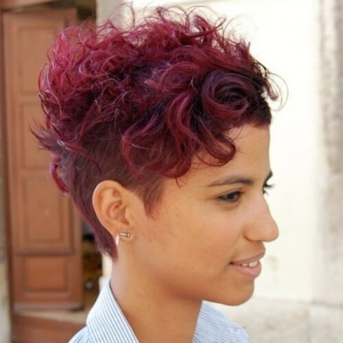Pixie Hairstyles with Undercuts