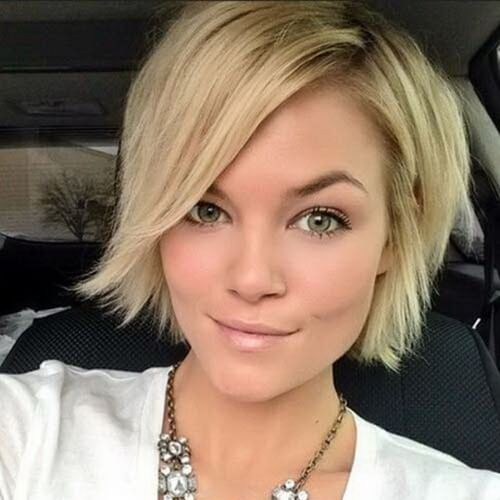 Short Bob with Side Bangs