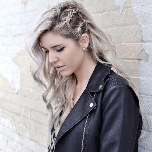 Wavy Braiding Hair Idea