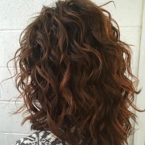 Wavy Hair Perm