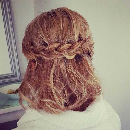 Back Braided Crowns