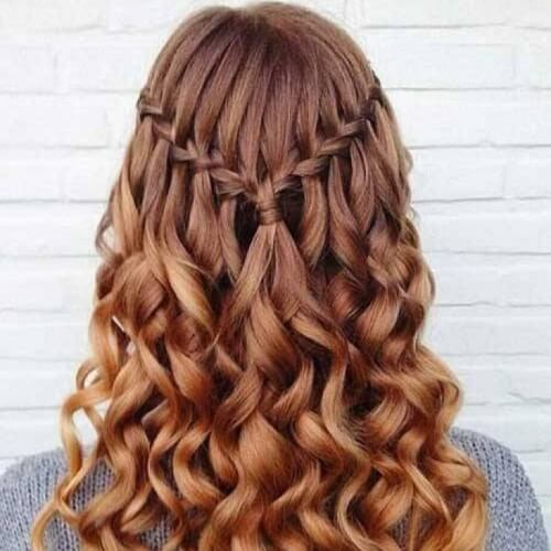 Braided Hairstyles with Curly Hair
