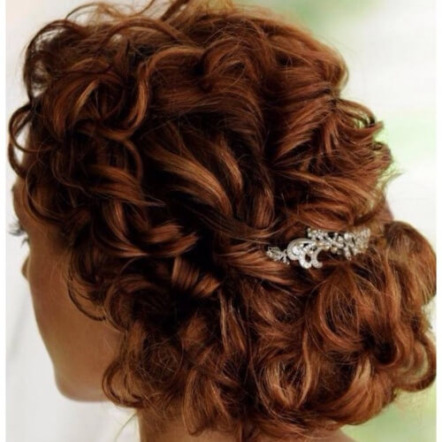Chignons with Curls