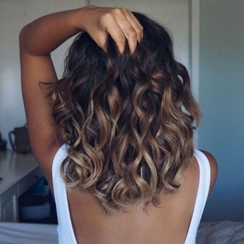 Chocolate Balayage Hairstyles