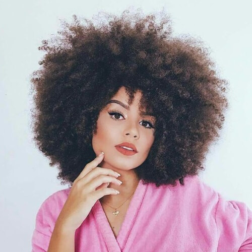 Curly Afro Hairstyles