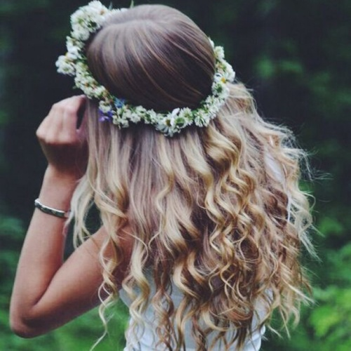 Curly Boho Hairstyles