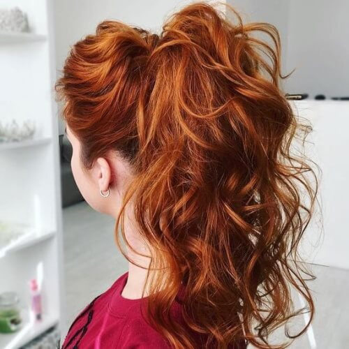 Simple Hairstyles For Small Curly Hair : Cute easy curly hairstyles hair motive