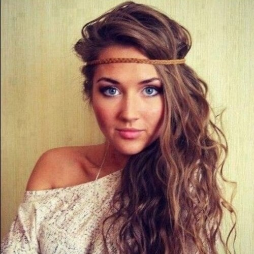 Hippie Headbands and Soft Curls