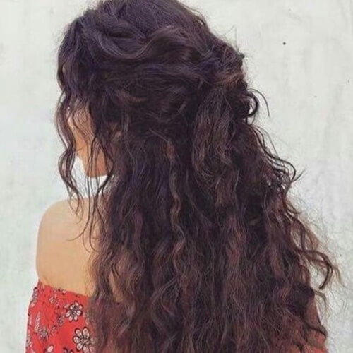 Go Crazy Go Curly With These 50 Cute Easy Hairstyles Hair Motive Hair Motive