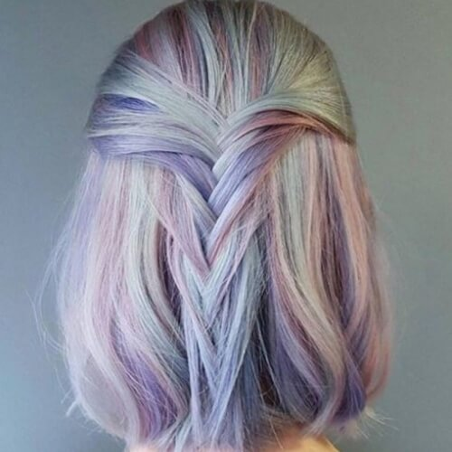 Loose Fishtail Braids