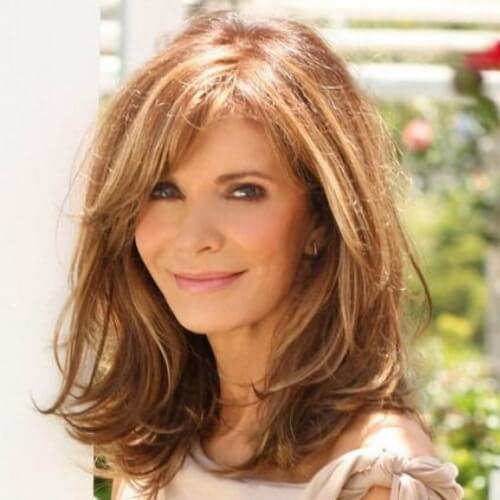Medium Length Hairstyles For Women Over 50 elegant hairstyles for women over 40 Medium Length Hairstyles For Women Over 50