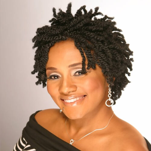 Nubian Twists Braided Hairstyles for Short Hair