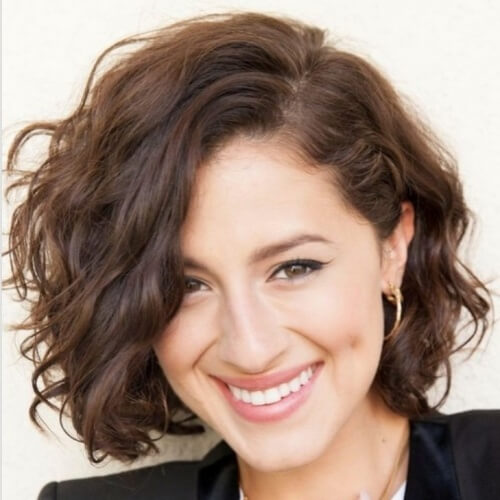 Professional Hairstyles for Short Curly Hair