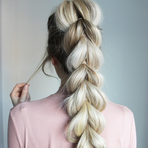 Pull Through Braid Styles