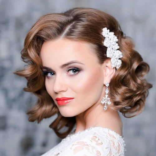 Retro Bridal Hairstyles