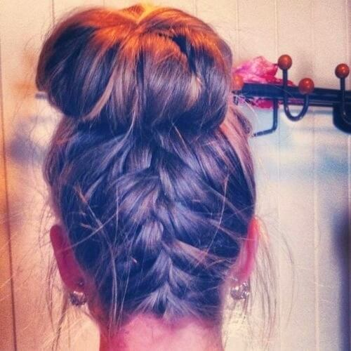 Reverse Braid Hairstyles