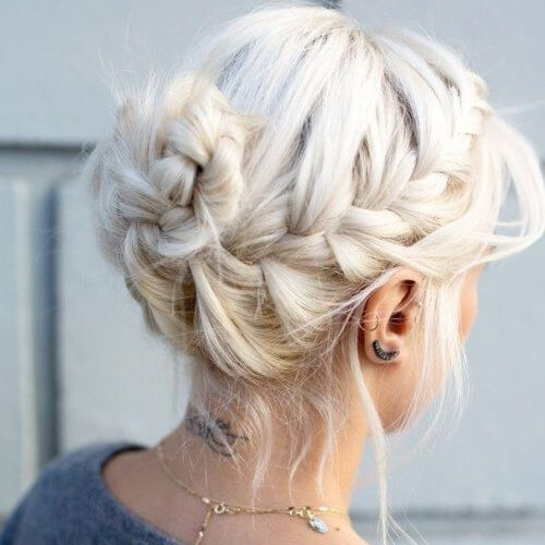 Spiral Braided Buns