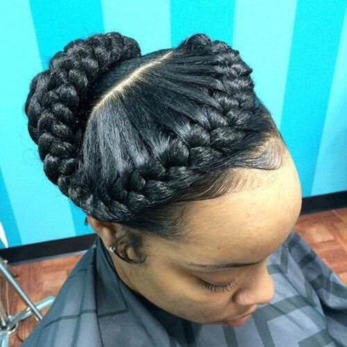 Wrap Around Braided Updos