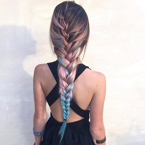 Braided Mermaid Hairstyles