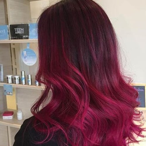 Reveal Your Fiery Nature With These 50 Red Ombre Hair Ideas