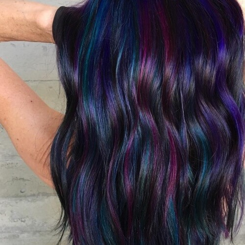 Dark Mermaid Hair