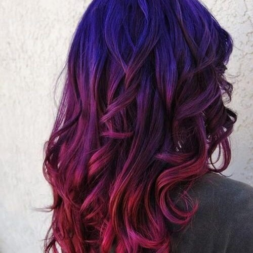 Dark Sunset Ombre