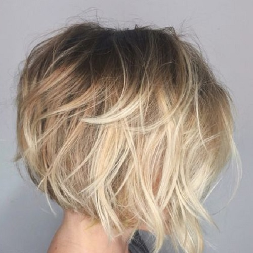 Feathered Asymmetrical Bob