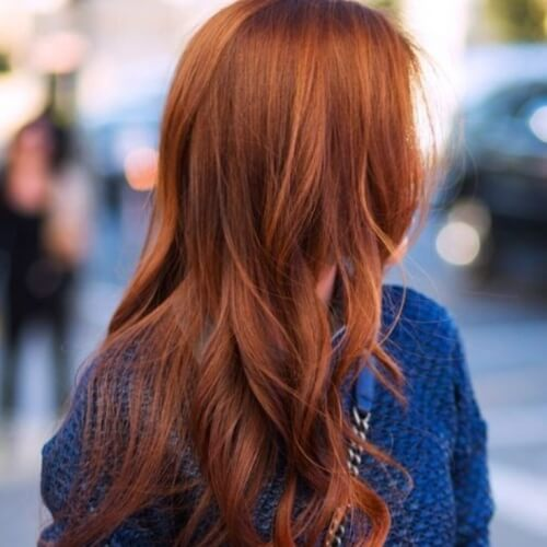 Ginger Auburn Hair Color