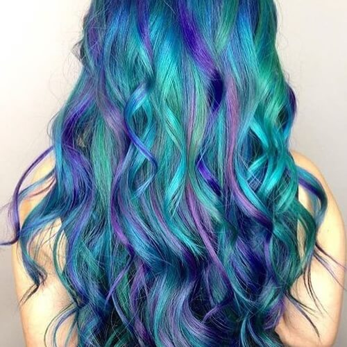 Mermaid Hair Curls