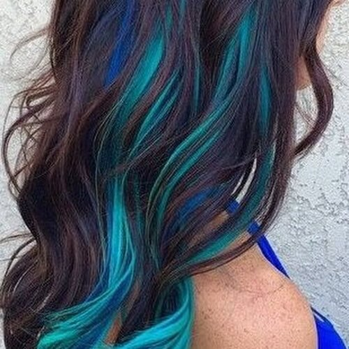 Mermaid Hair Highlights