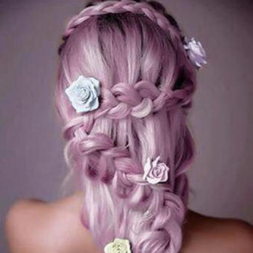 Mermaid Hair Long Braid