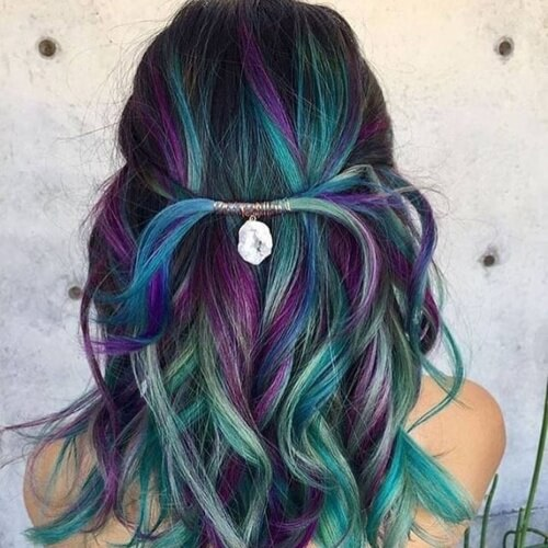 Mermaid Hair Short
