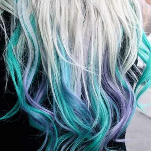 Mermaid Hair Tips