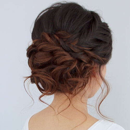 Ombre Updos