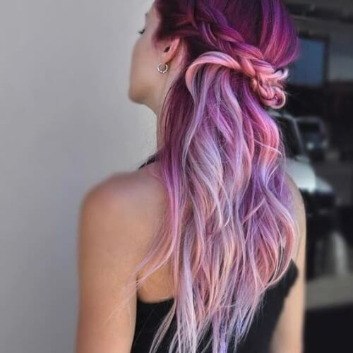 Pink Ombre Mermaid Hair
