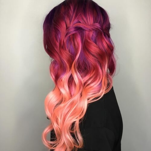 Pink Red Color Melt