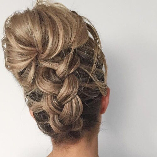 French Braid Homecoming Hairstyles Hairstyles