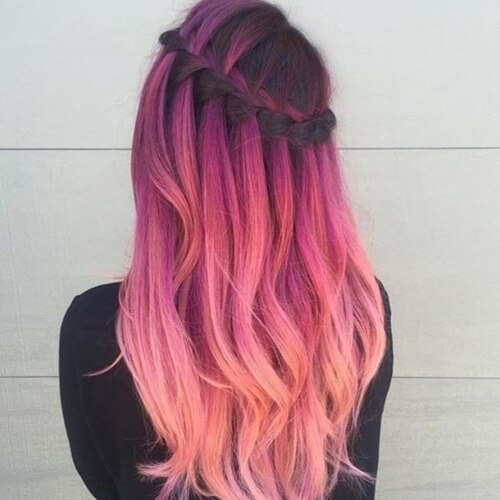 Sunset Mermaid Hair