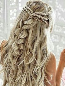Twisted and Braided Homecoming Hairstyles