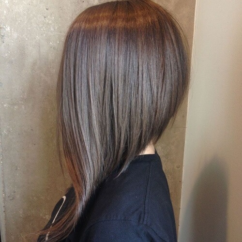 Very Long Asymmetrical Bob