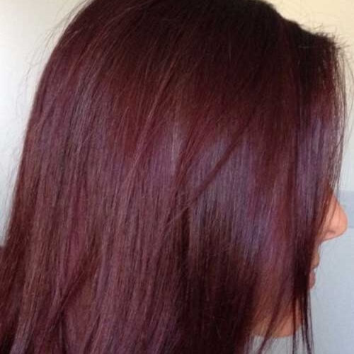 Wine Auburn Hair Color