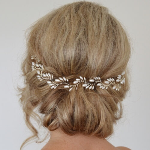 Back Tiara Hairstyles