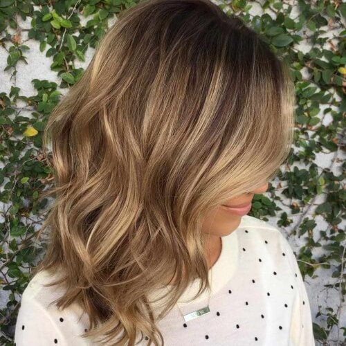 Blonde and Chocolate Brown Hair
